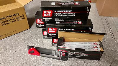 Grip-rite Stone Wool Roxul Spray Foam Insulation Batt Knife Tool Gun Rig Grknife