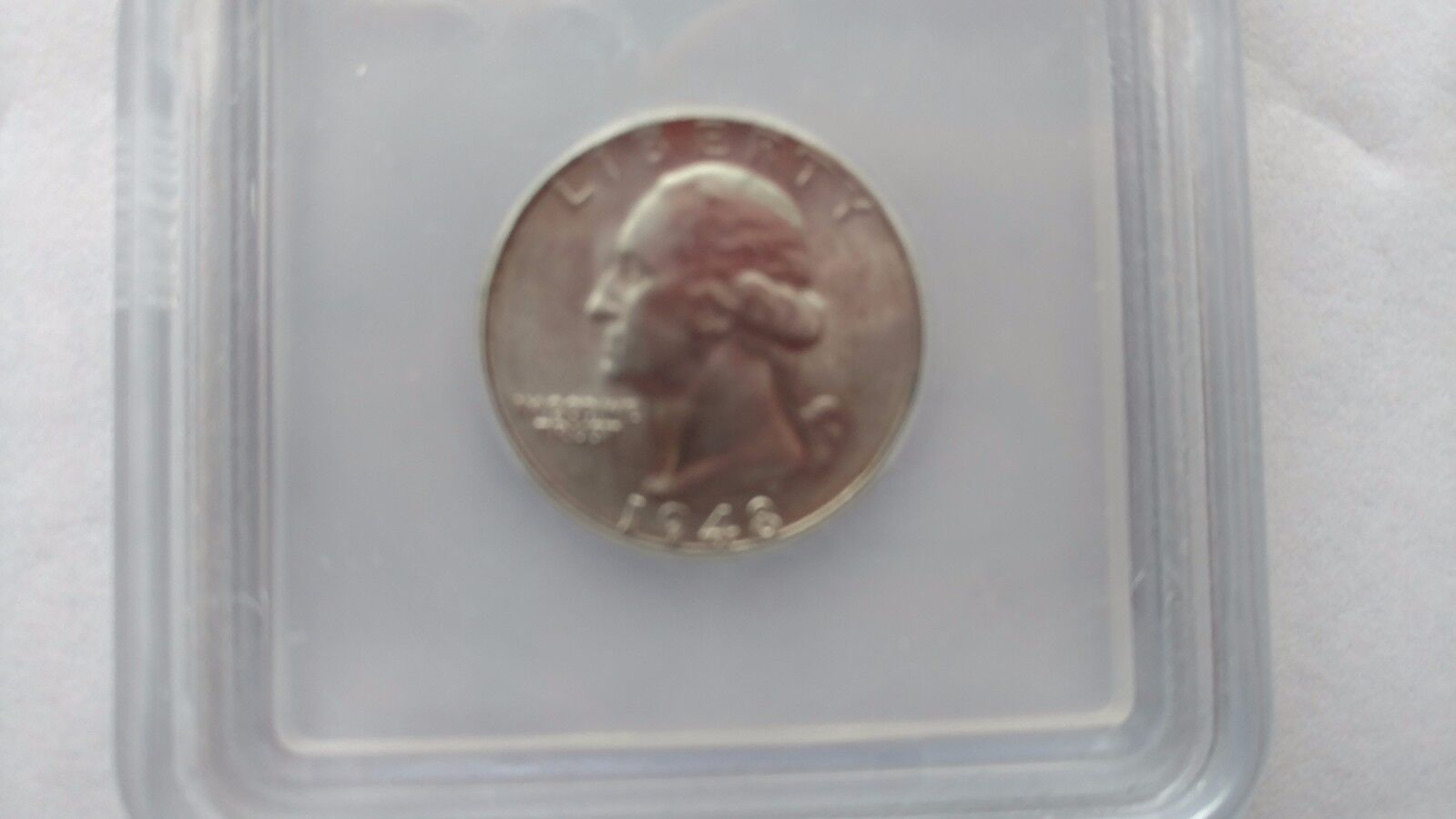 1948-S WASHINGTON QUARTER 25 CENTS ICG MS 67 - RARE COIN IN MS 67 HARD TO FINE - $250.00