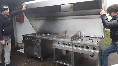 Edelstahlküche Gastronomie Top Zustand  - Edelstahl Küche Top