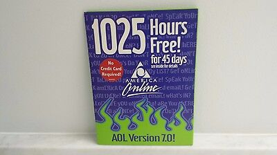 Aol America Online 7 0 Cd Vintage Collectible 2001 New Mint Condition