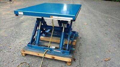 Electric Hydraulic Scissor Lift Table3500 Lb Capacity60 X 48 Table