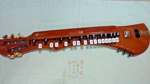 Gift Idea: Suzuki KOHAKU CHK-1 Electric Taishogoto + Semi-hard Case (#03)