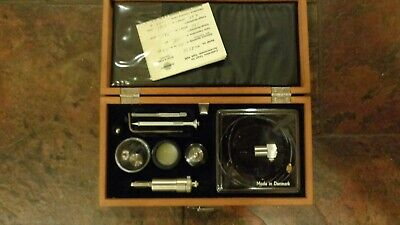Bruel Kjaer Accelerometer With Original Wood Case And Accessories - 4332