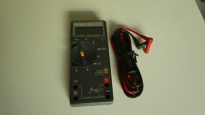 Fluke 77bn Multimeter Calibrated With New Test Leads.