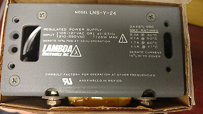 Lambda Lns-y-24 Regulated Power Supply