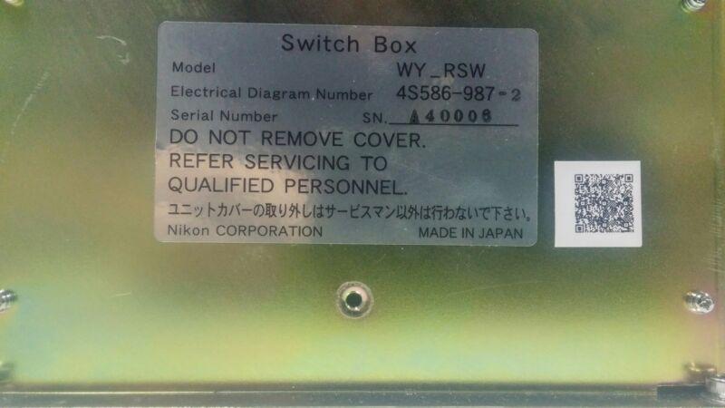 Nikon Corporation Switch Box Wy_rsw