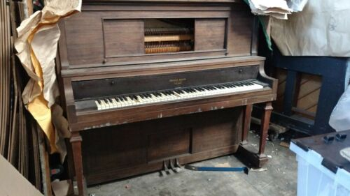 Piano upright grand size 60x29 56in tall Francis Bacon Santa cruz CA pickup only