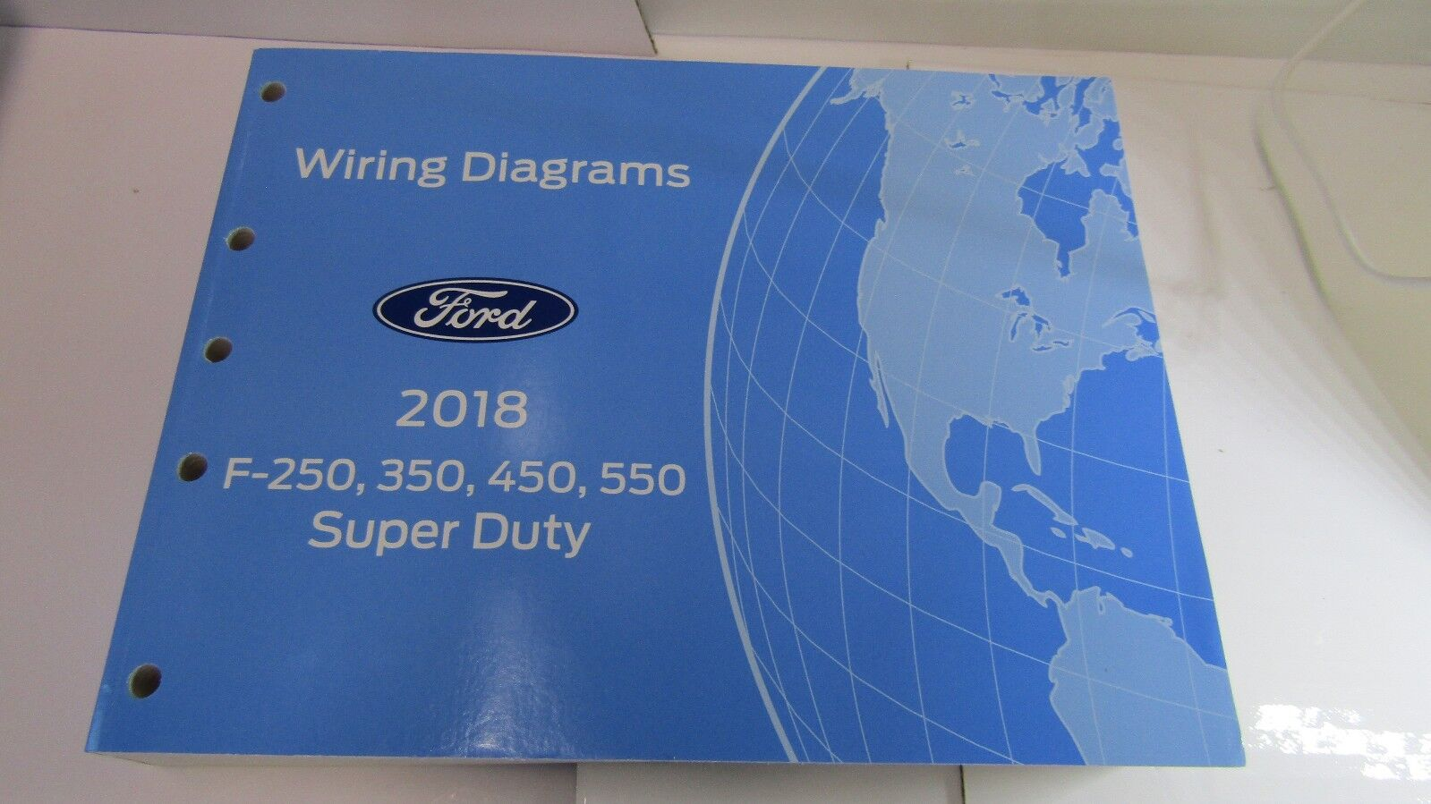 2018 FORD TRUCK WIRING DIAGRAMS F-250 F-350 F-450 F-550 GAS & 6.7L TURBO DIESEL