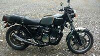 Miniature 1 Motorcycle Kawasaki kz 1000st 1979