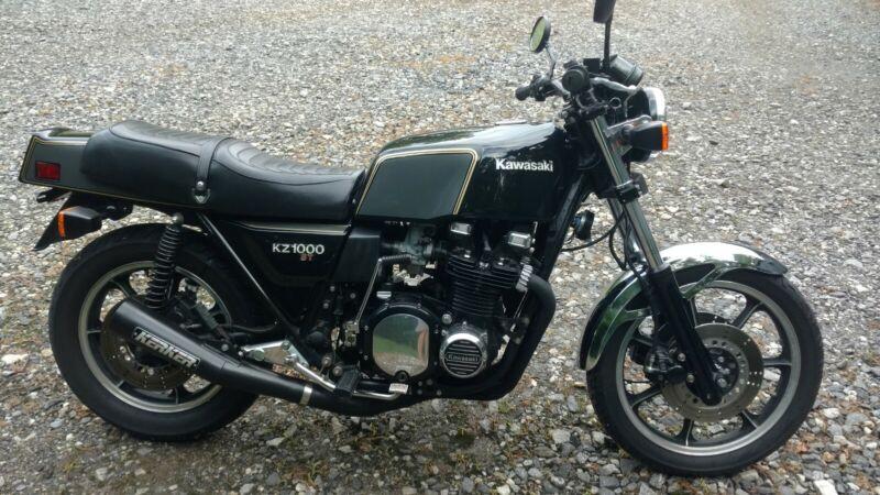 Image 1 Motorcycle Kawasaki kz 1000st 1979