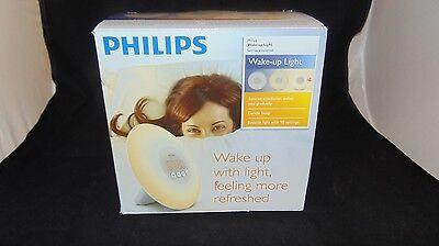 New, Open Box - Philips (HF3500) Wake-Up Light with Sunrise Simulation, White