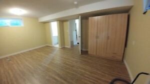 Quite Basement ready to rent
