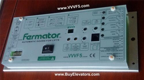 Fermator  Robusta Automatic Doors Lifts VVVF ,+VF5,VVVF4+, MOnxt,  Buyelevators