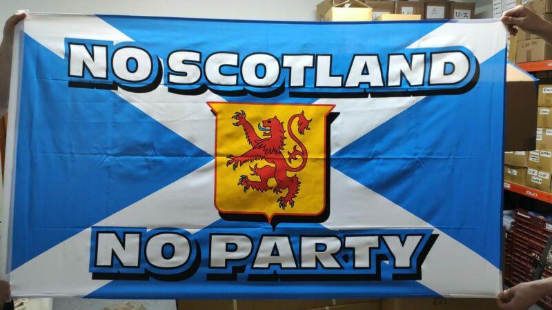 St Andrews Cross FLAG 5' x 3' Navy Blue Saltire No  Scotland No Party