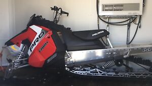 2017 Pro RMK 250 miles with warranty