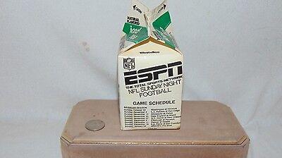 1988 Espn Nfl Sunday Night Football Game Schedule Pensupreme Iced Tea