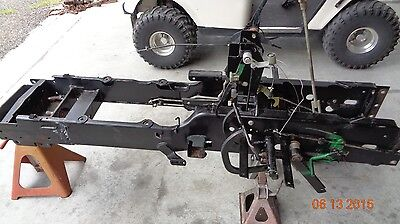 John Deere 955 4x4. Parting Out Frame Misc Parts Only