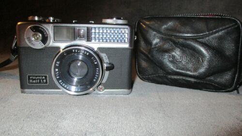 RARE-N-MINT-Vintage Fujica Half 1.9 72 rangefinder camera & 3.3cm/1:1.9 Fujinon
