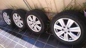 Honda Accord mag wheels / rims and tyres Kellyville Ridge Blacktown Area Preview