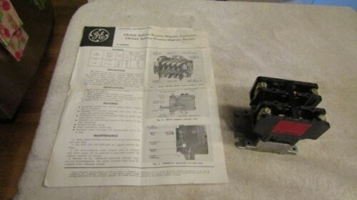 General Electric GE Definite Purpose Magnetic Contactor CR153C CR153C000ANA NOS