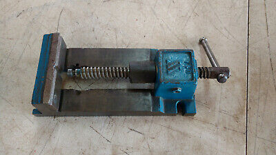 Wilton Quick Acting Drill Press Vise4-12 V Grooved Jaw 141025 Made In Usa