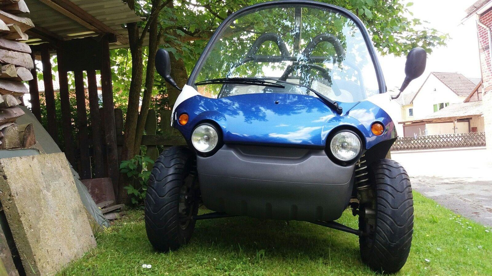 secma funtech 50 Trike Buggy Roller 50 ccm Straßenzulassung 45km/h TOPohneHelmpf
