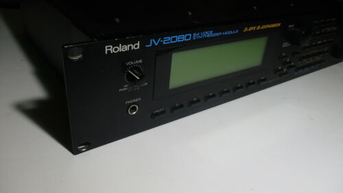🎶 Roland JV-2080 64-Voice Synth Synthesizer Vintage Rack ♫( Good condition!) 👀