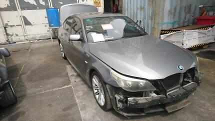 2003 – 2010 BMW 525i E60 M-SPORTS GREY SEDAN WRECKING PARTS Villawood Bankstown Area Preview