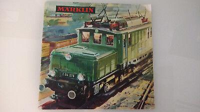 Märklin Katalog aus dem Jahr 1964/65 guter Zustand