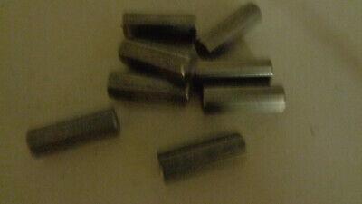 12 .500 Diameter X 1 12 Long Stainless Steel Hex Rod Bar 303 1 Piece