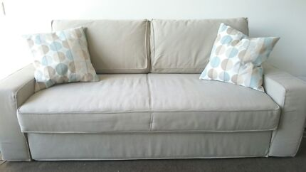 Sofa bed, 3-seater + cushions Waterloo Inner Sydney Preview