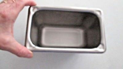 Vollrath Super Pan Nfs 18-8 Stainless Steel Steam Table Insert 1.1 Quarts 3094-2