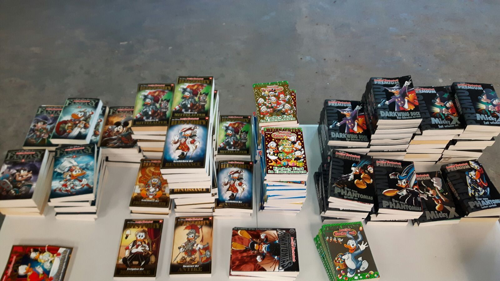 Comic Sammlung 30 LTB Premium History Fantasy Duck Maus Taschenbuch 83 509 22 18