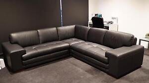 Dylan 3 seater sofa leather suite 3 pieces Kensington Melbourne City Preview
