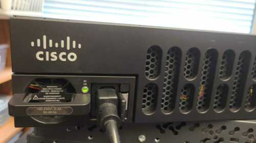 CISCO ISR4351/K9 GIGABIT Integrated Service Router ISR4351-X Tested..