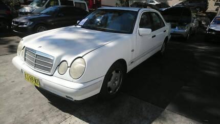 1996 – 1999 MERCEDES E320 W210 WHITE SEDAN PARTS – M22129 Villawood Bankstown Area Preview