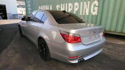 2003 – 2010 BMW 525i E60 SILVER SEDAN WRECKING PARTS – B21970 Villawood Bankstown Area Preview