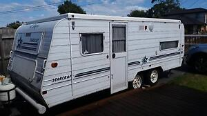 1997 Jayco Starcraft family caravan poptop 6 berth dual axle Seaford Frankston Area Preview
