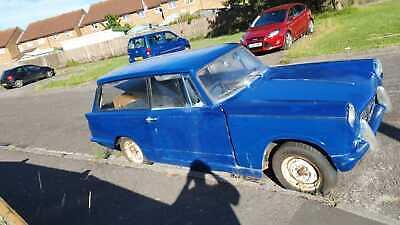 Triumph Herald Estate Blue 1200 Reconditioned Engine No Reserve uk Registered
