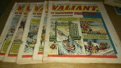 5 VALIANT COMICS 1965