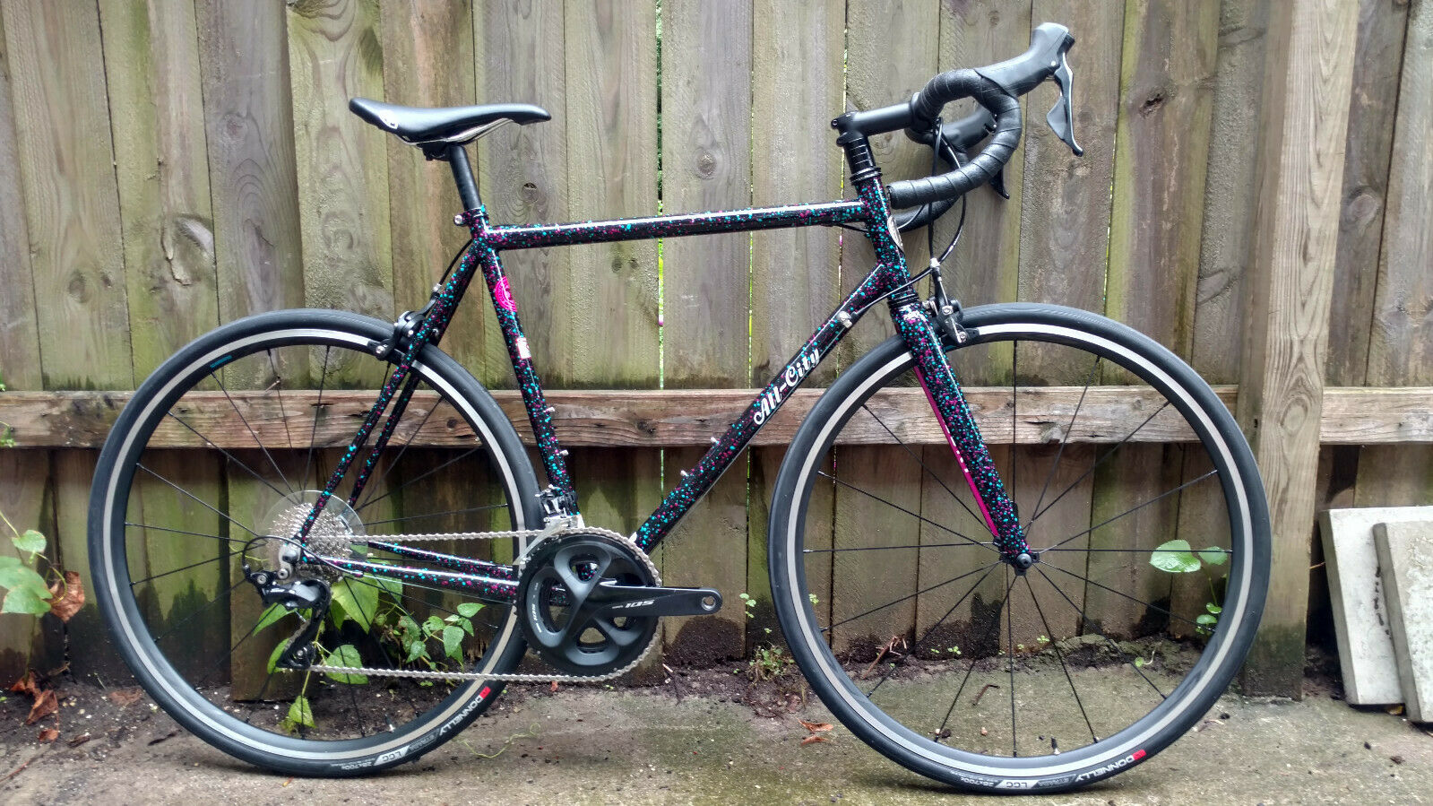 2019 55cm All City Mr Pink 10th Anniv Road Bike Columbus Zona Steel Shimano 105 (New other (see details) - 2299 USD)