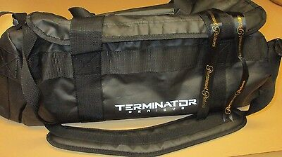 rare Paramount Promo 2015 TERMINATOR GENISYS Duffle Bag High Quality Black NEW