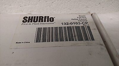 Shurflo 132-0103-CP Stasis- Pull-Out Galley (Kitchen) Faucet Only Missing Parts