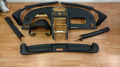 LAMBORGHINI GALLARDO INTERIOR DASHBOARD ASSEMBLY COMPLETE DASH TRIM PANELS OEM