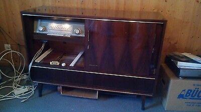Fernseh- Radioschrank - Imperial Goldstar - Radiotruhe 50er Jahre
