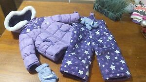 Winter jackets snow pants snowsuits outwear baby girl