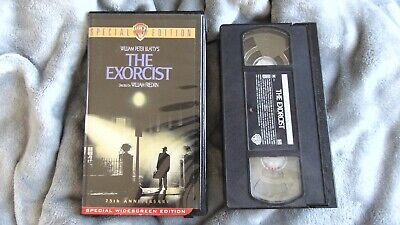 The Exorcist 25th Anniversary Special Edition HARD Box VHS Widescreen LIKE NEW