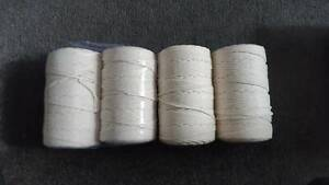 Cotton macrame threads/cords - read bellow for details