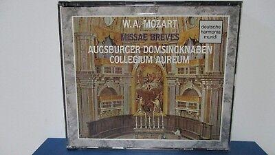 Collegium Aureum   Mozart  Missae Breves   Early Masses   2 Cd   Mint   E18 1106