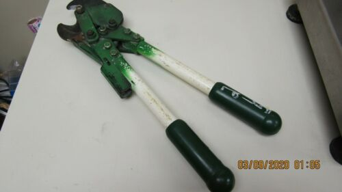 GREENLEE 773 RATCHET ACTION CABLE CUTTER